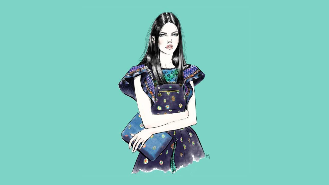 Rosalba Cafforio – illustratrice di moda