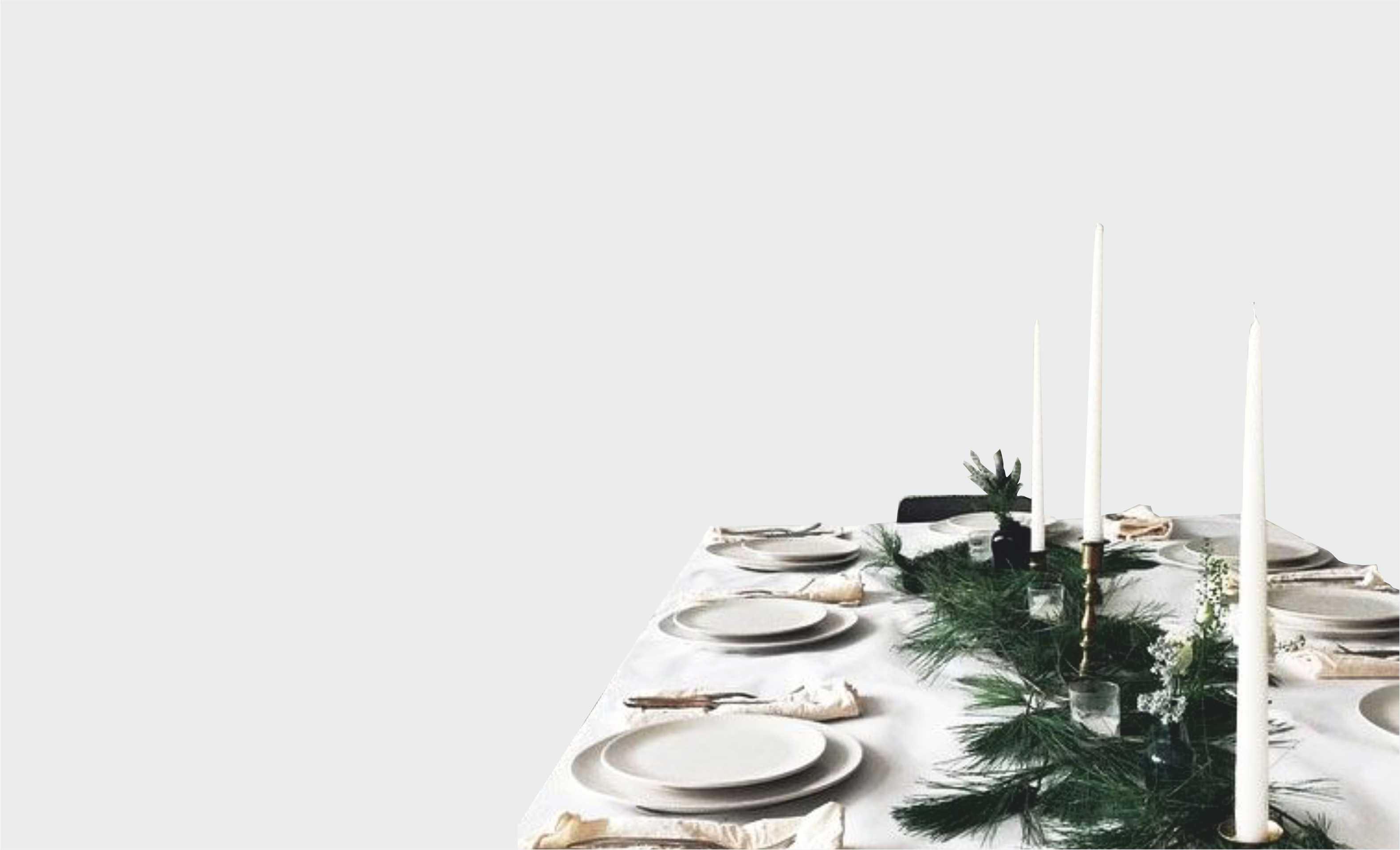 Mise en place Christmas: a tavola con il design