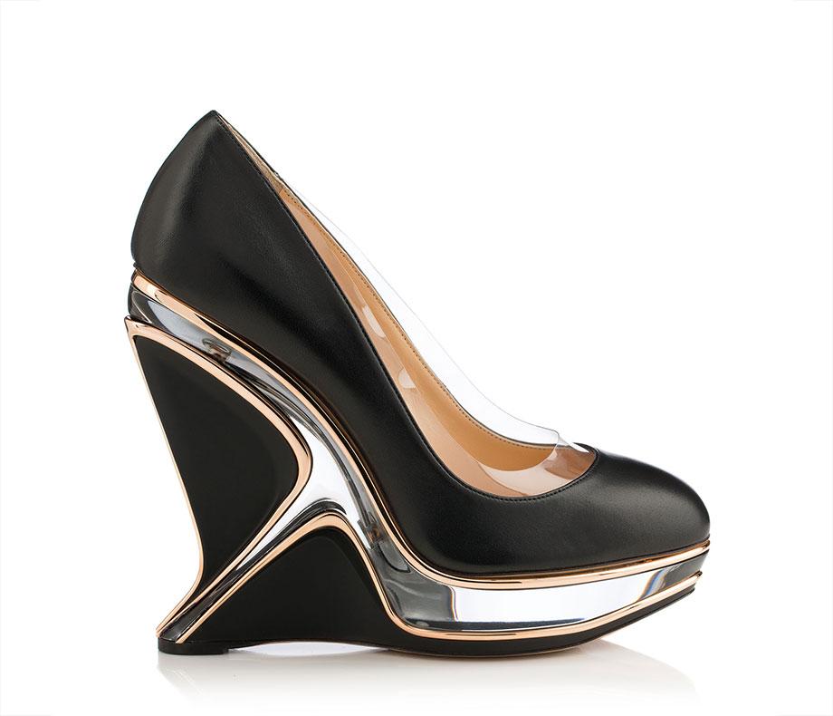 Zaha Hadid per Charlotte Olympia