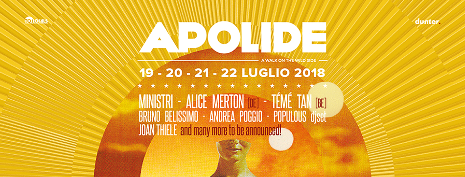 APOLIDE FESTIVAL 2018 – A Walk On The Wild Side