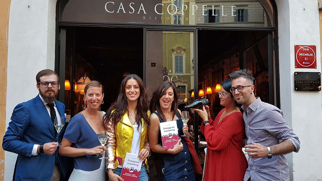 Instagram Marketing – Ilaria Barbotti presenta il suo libro a Casa Coppelle