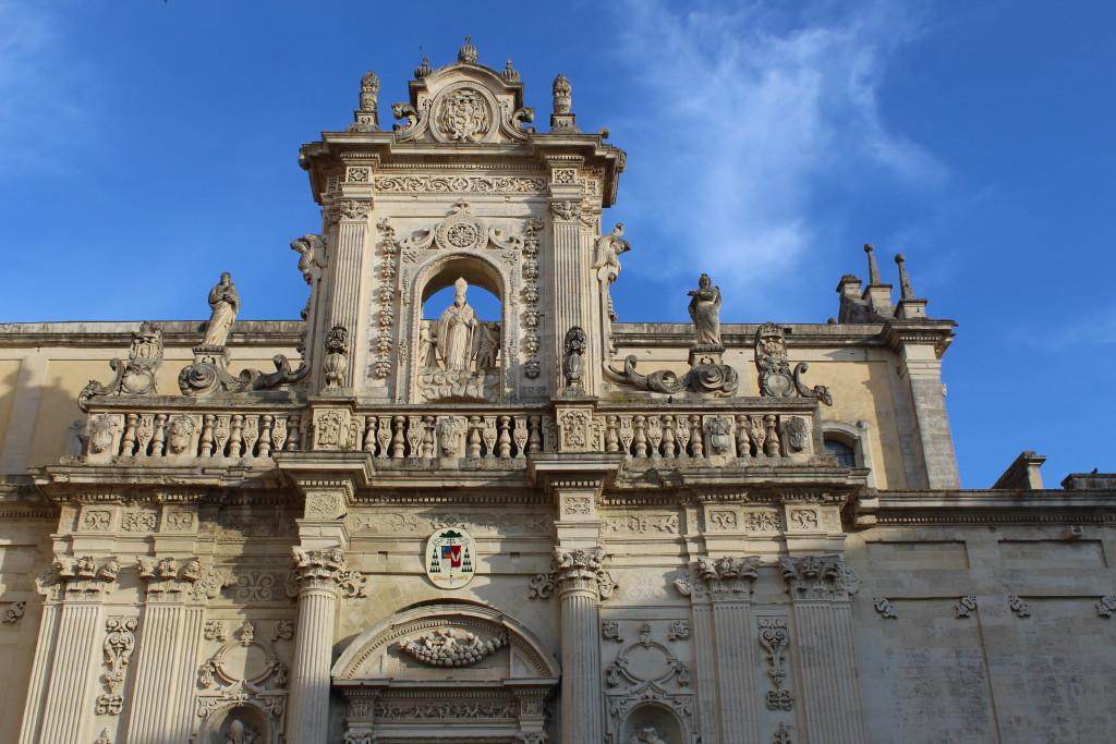Duomo di Lecce. Foto dell'autrice