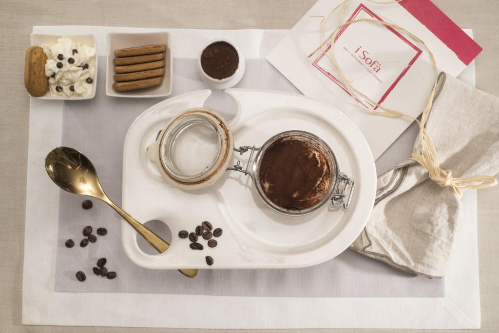 Tiramisù al caffè con biscotti Osvego Gentilini