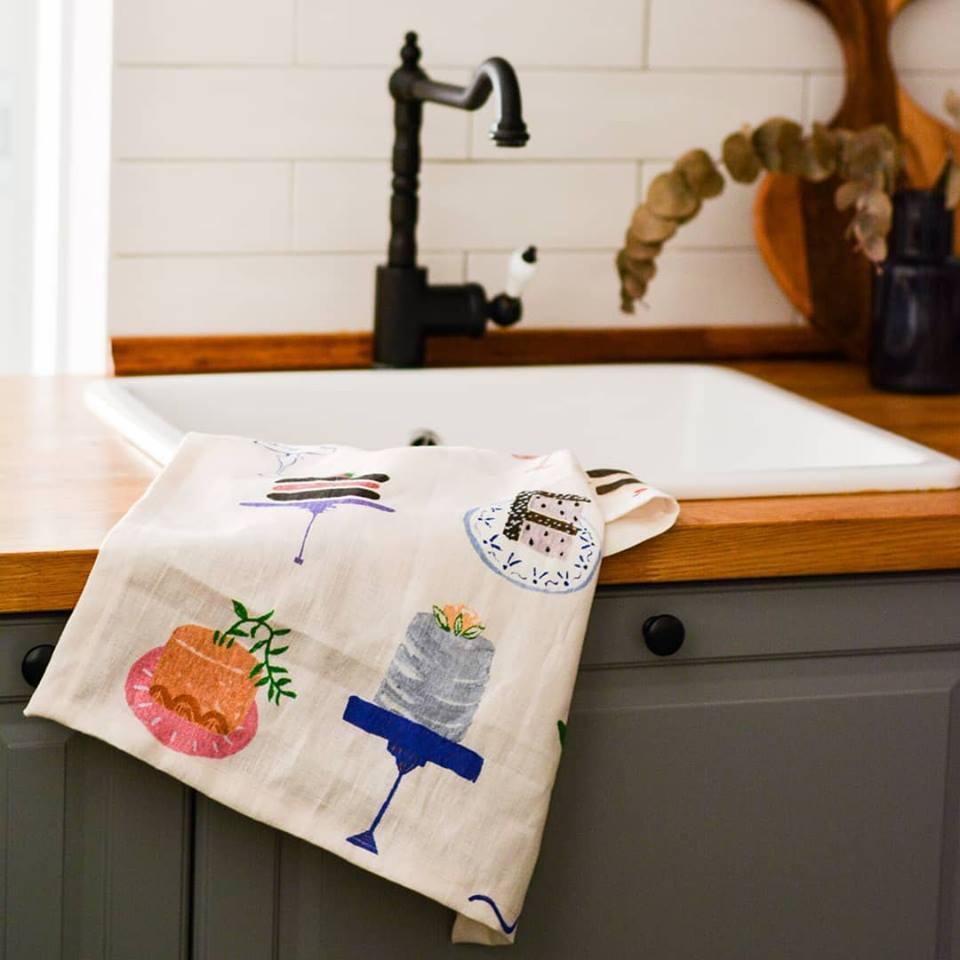 Atelier Mave Tea Towel