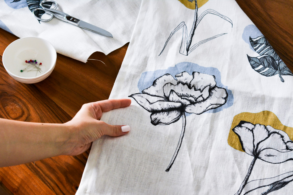 Atelier Mave Floral Tea Towel