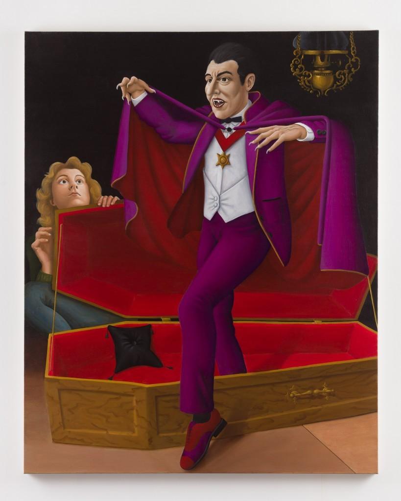 Patrizio Di Massimo, I am count Dracula, 2018, 150 x 120 cm, oil on linen, Photo: Mark Blower
