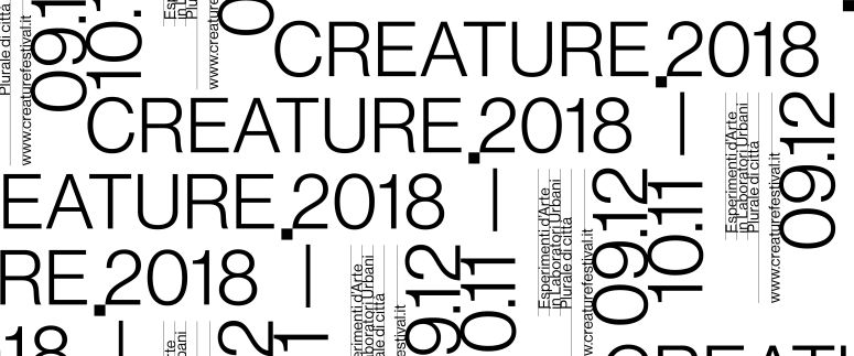 CREATURE – FESTIVAL DELLA CREATIVITÀ URBANA