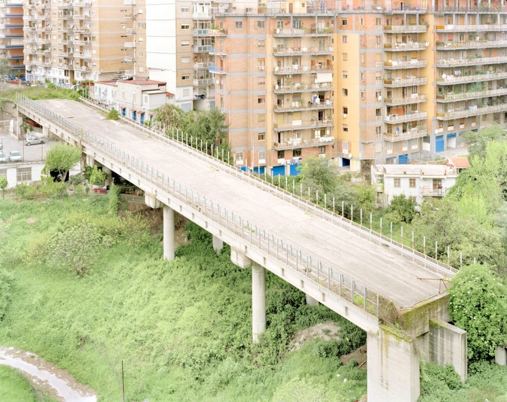Il ponte Morandi a Genova