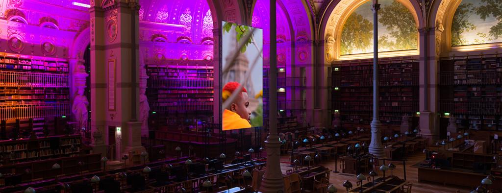 Vers l'Europa deserta, Terra Incognita, installation view at Nuit Blanche 2017, Ville de Paris © ADAGP, Paris 2017. Ph Marc Domage