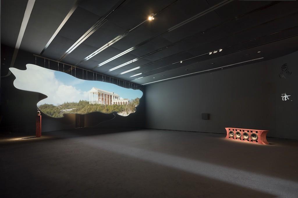 Invernomuto, Calendoola SURUS, 2018, installation view at MAXXI BVLGARI Prize, courtesy of the artists and Pinksummer Genova, Ph. Giulio Boem