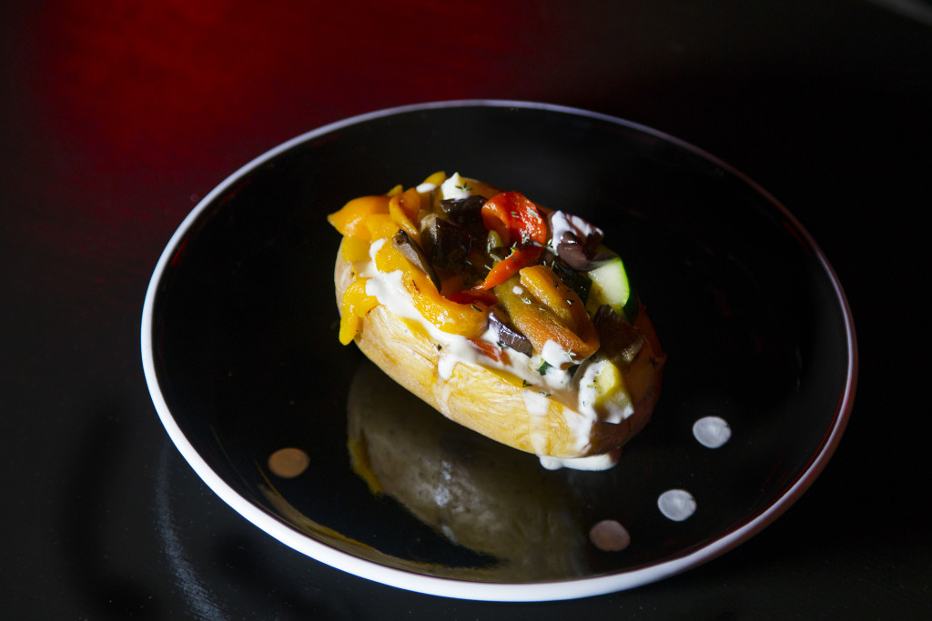 Jacket potato verdure