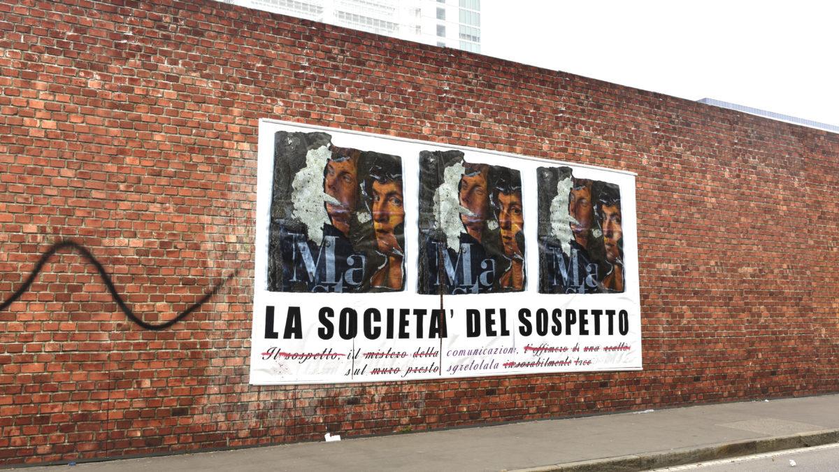Società del sospetto – Rebor art