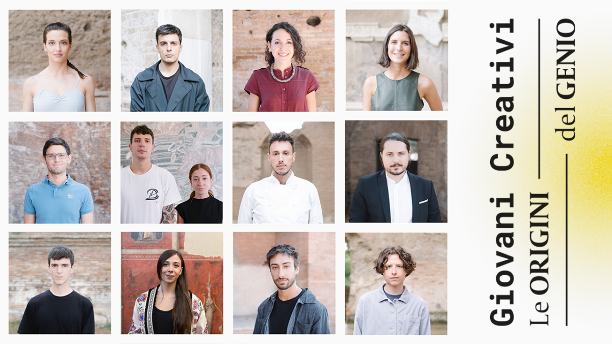 Giovani Creativi – I 12 protagonisti dell'edizione 2019