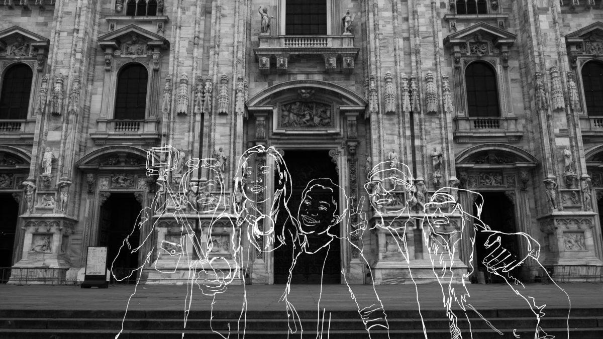 """""""Una nebbia diversa"""" – Due studentesse ridisegnano la Milano del virus"""