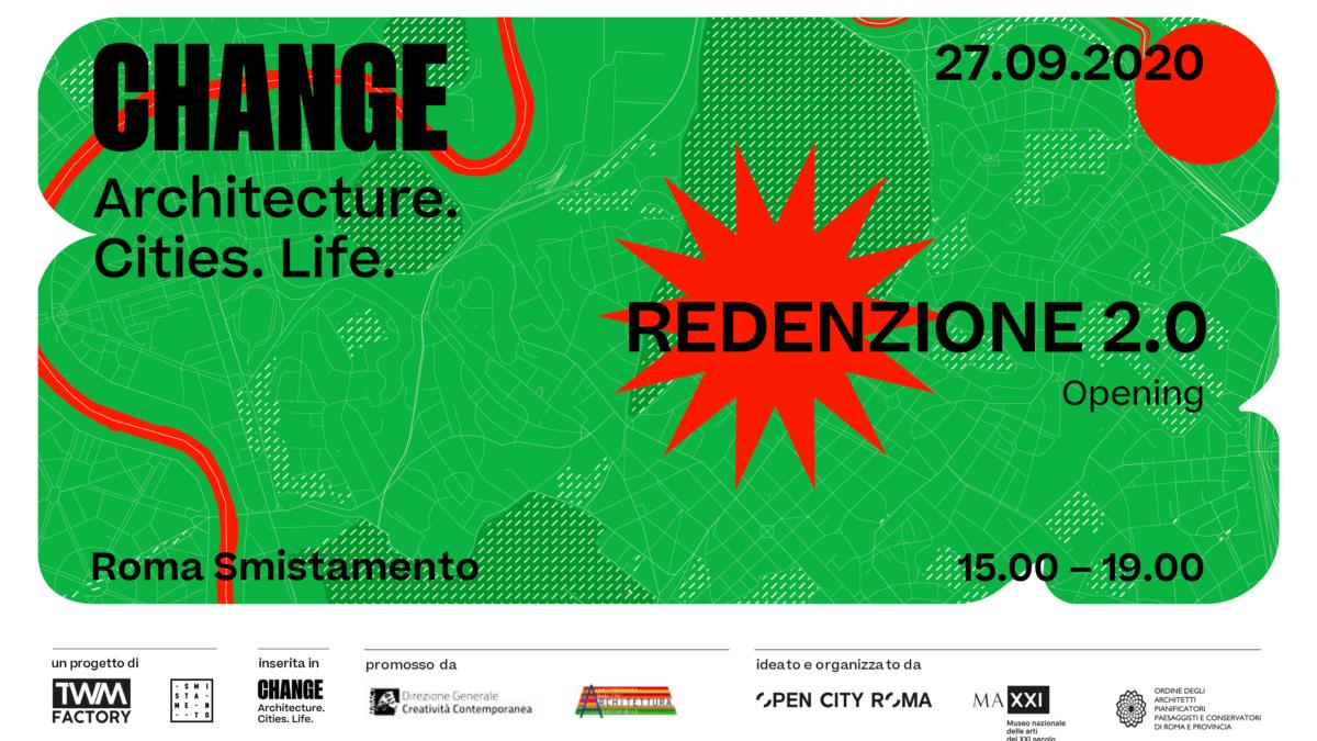 Redenzione 2.0 | Rigenerazione Urbana a Roma