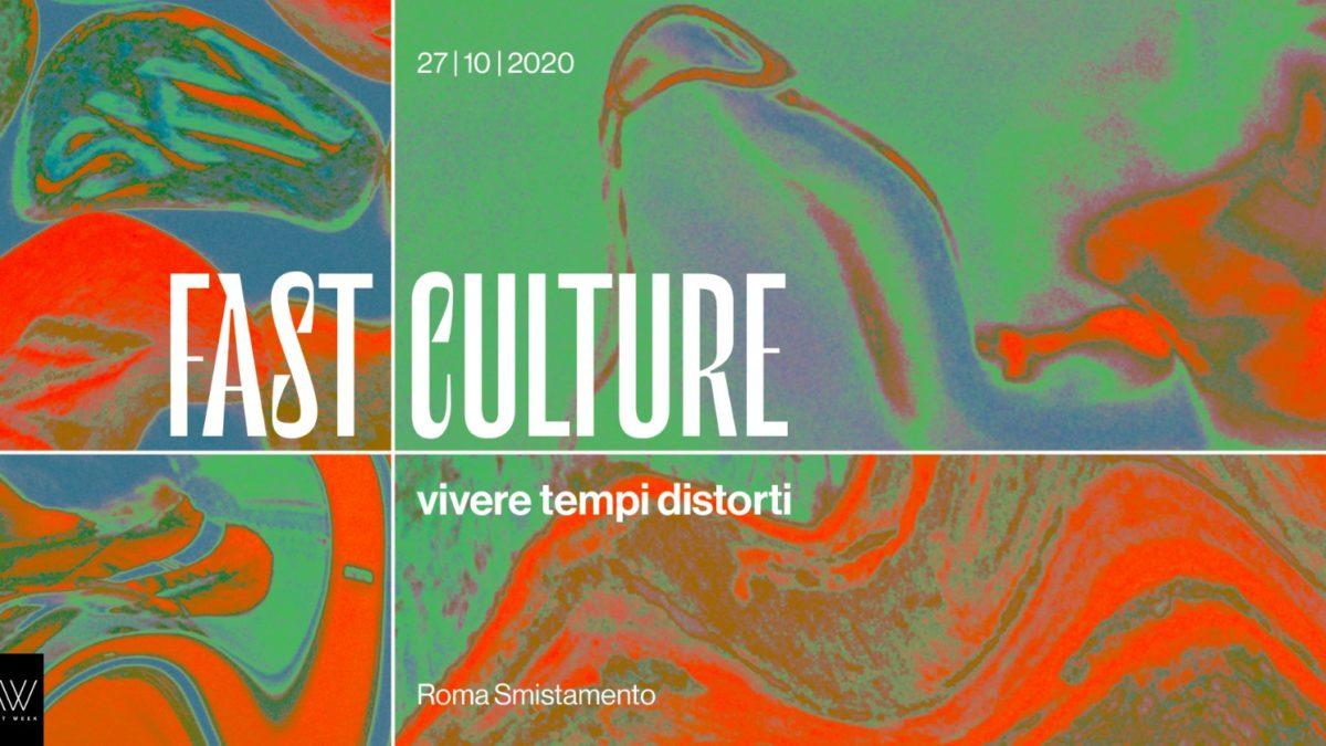 Fast Culture| Vivere tempi distorti  – La mostra a Roma Smistamento