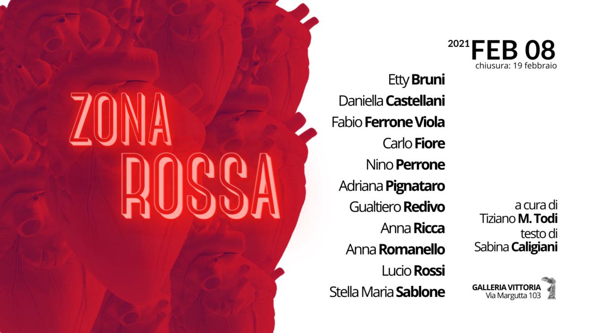 Zona Rossa – La mostra a Galleria Vittoria