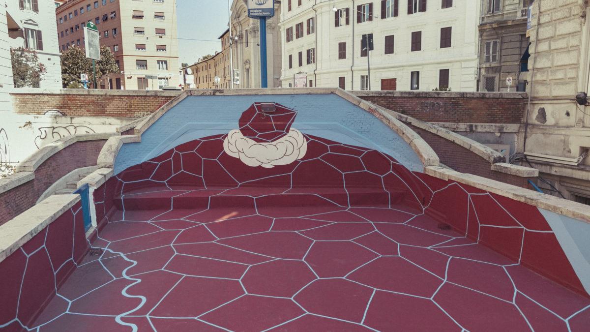 Confluences – L'opera di Andreco per Art Stop Monti